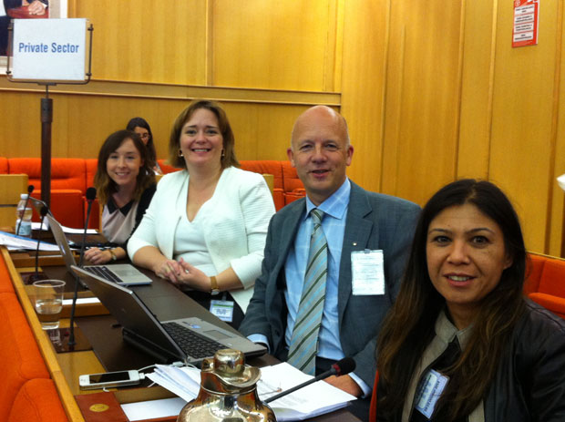 Private Sector Delegates to ICN2 negotiations, October 2014